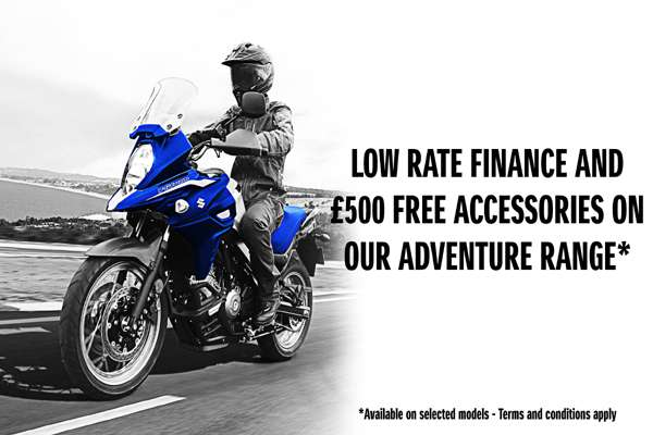 LOW RATE FINANCE + £500 FREE ACCESSORIES