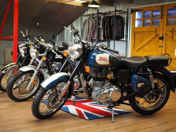 Royal Enfield Showroom