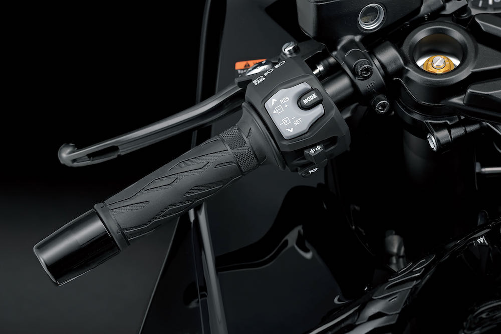 Simple handlebar mounted controls